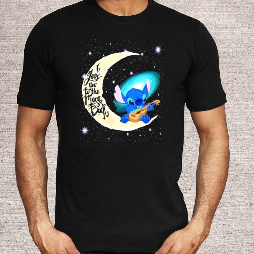 I Love You To The Moon And Back Stitch Shirt