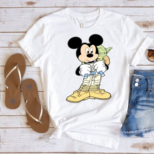 Mickey mouse with yoda shirt
