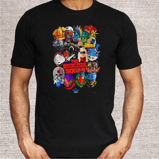 The Suicide Squad characters shirt