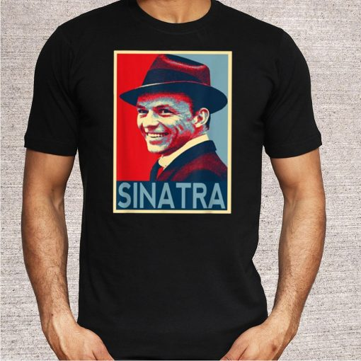 Vintage Frank Sinatra Love Country Music T-Shirt 3