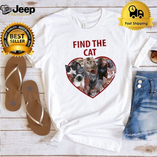 Find the cat love shirt