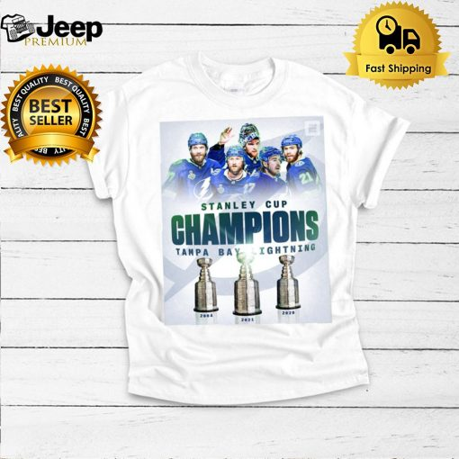 Stanley Cup Champions 2004 2020 2021 Tampa Bay Lightning Team sports shirt
