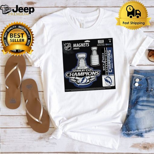 Tampa Bay Lightning magnets aimants 2021 Stanley Cup Champions t shirt