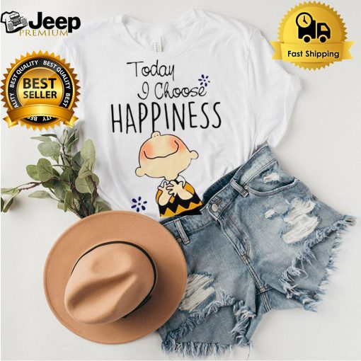 Today I Choose Happiness Snoopy Shirt 5