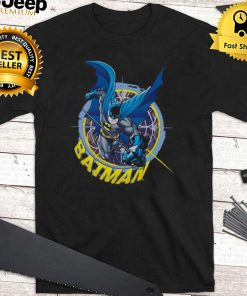 Batman In The Crosshairs Adult Pullover T shirt
