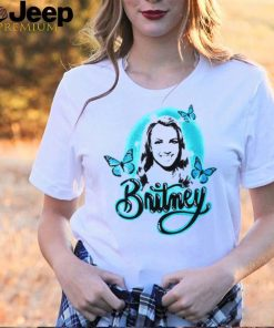 Britney Airbrushed Butterfly shirt