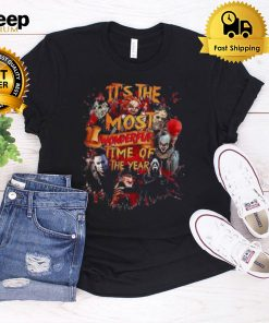 Halloween Horror Movie Characters Its The Most Wonderful Time Of The Year Shirt