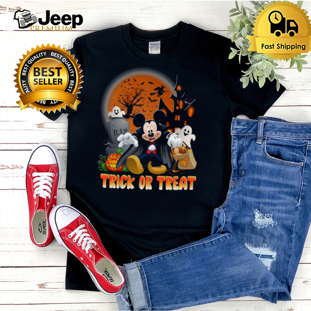 Mickey Mouse Trick or treat shirt