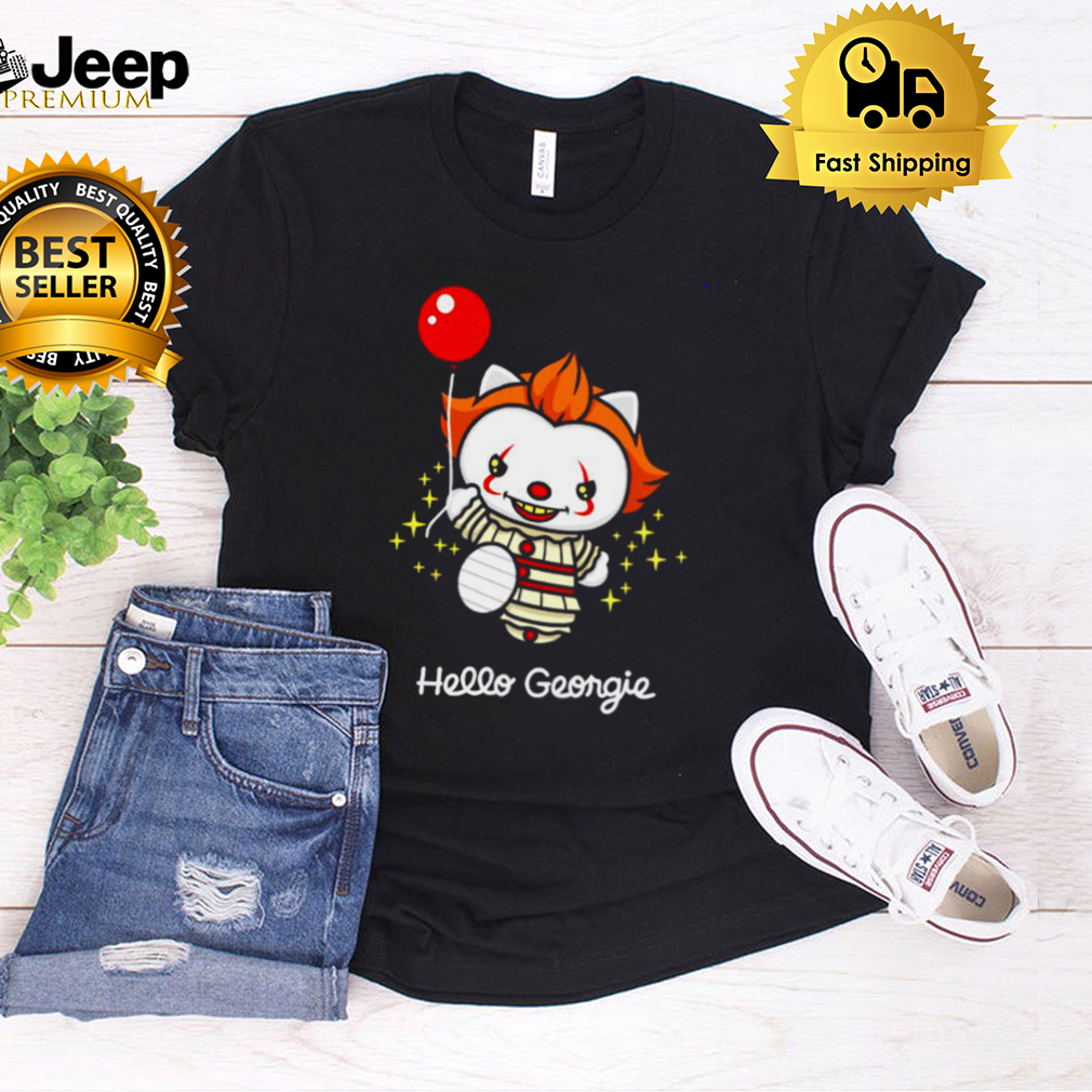 Pennywise cat hello georgie shirt