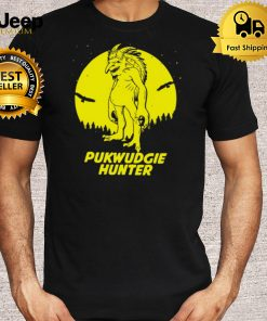 Pukwudgie Hide And Seek Hunter Champion Cryptid T shirt