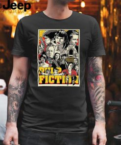 Pulp Fiction Poster Characters T hoodie, tank top, sweater