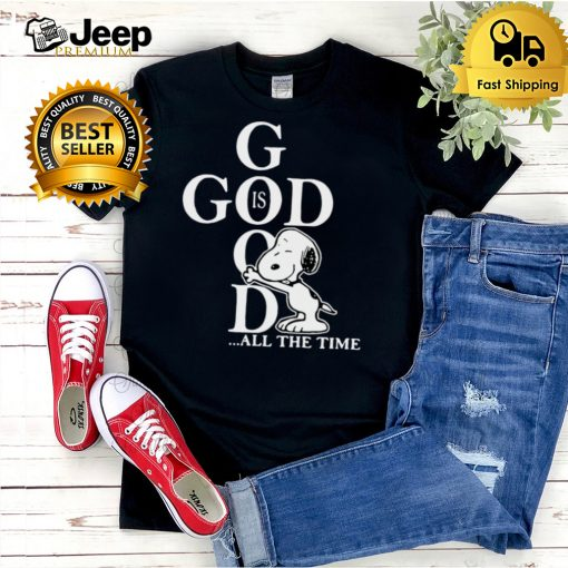 Snoopy God Is Good All The Time T shirt (1)