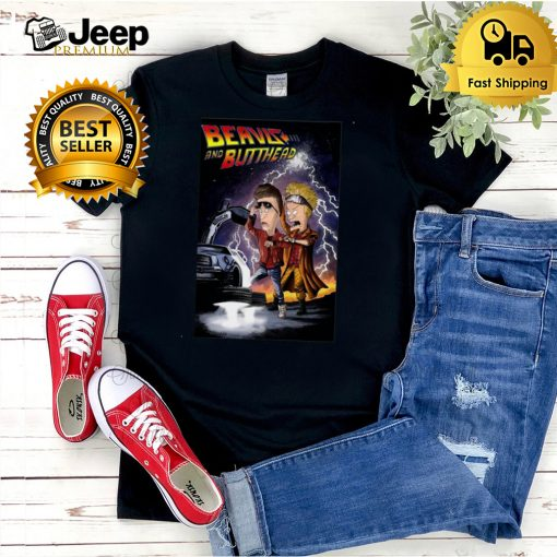 Beavis and Butt Head Back To The Future T shirt
