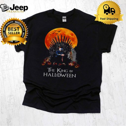 Best michael myers the king of halloween shirt