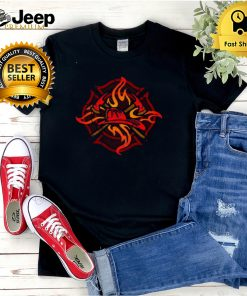 Fire Fighter Crest Firefighting Medic Pride T shirt