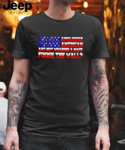 I will never apologize for being American and not wearing a mask shirt