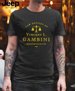 My Cousin Law Offices of Vincent L. Gambini T shirt