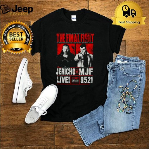 All Out 2021 Matchup Chris Jericho vs MJF The Final Fight Shirt