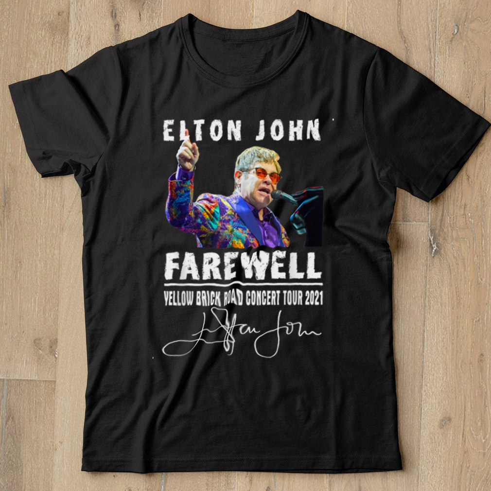 Graphic Johns Country Music Outfits Playing Piano Rocketman T Shirt