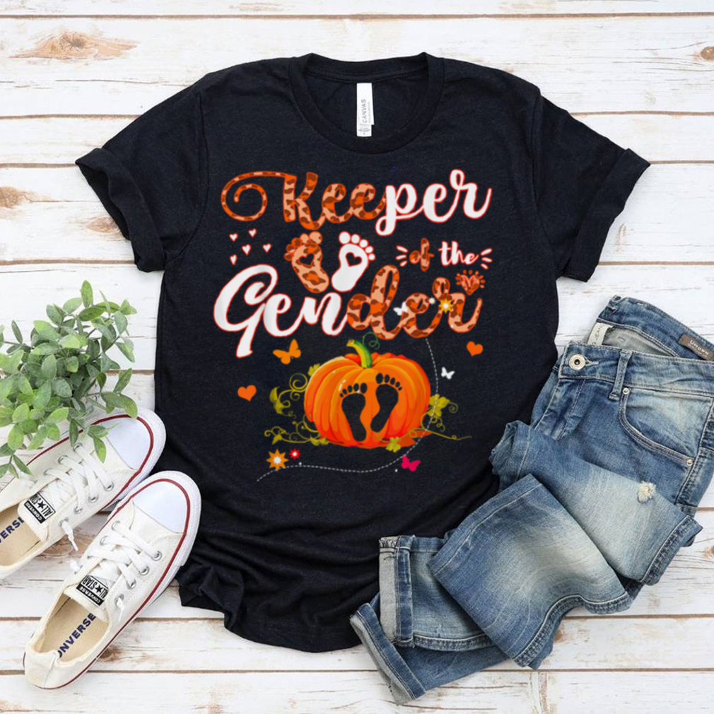 Keeper Of The Gender Reveal Baby Halloween Party T Shirt