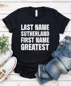 Official Family Surname Funny Reunion Last Name Tag T Shirt 9